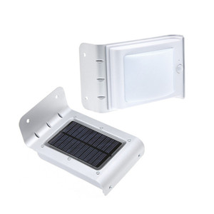 16 LED Solar Lamps Motion Sensor Light Garden Yard Security Lamp Wireless Waterproof Outdoor Wall Lighting 120 Degrees Sensing Angle