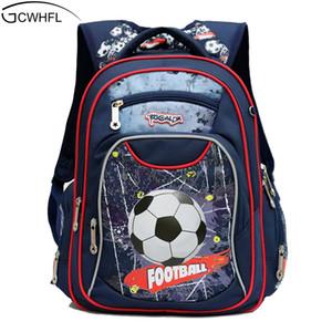 Gcwhfl الموضة العظام أطفال حقائب مدرسية للبنين حقيبة كيد للماء الظهر الابتدائية الأطفال الصف 1-3 Y190601