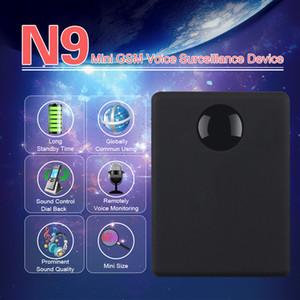 긴 대기 시간 개인 미니 음성 활성화가 내장 된 2 MIC 모니터링 N9 포지셔너 추적기 미니 GSM 장치 N9 오디오 모니터 듣기