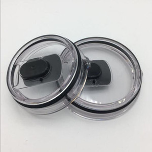 30 oz gros couvercles magnétiques Tumbler 20 oz Magnet Effacer Couvercles Voitures de couverture Chope Splash Spill Couvre preuve en acier inoxydable pour Tumbler YE Cup