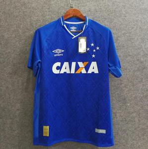 Maglia Retro calcio Cruzeiro 17/18 Rodriguinho Dede Thiago Neves Sassa FRED Egidio Leo calcio assente Jersey Camisola de Futebol Campeao 2018
