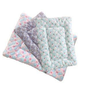 Filhote de cachorro Cat Dog Pet Plush Quente Mat sono geral macios cama cobertores Suprimentos NOVO