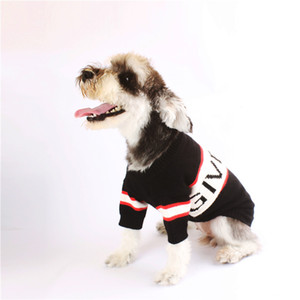20ss Letra G Animais camisolas do cão Pup Kitty Schnauzer Teddy Bichons Frises Bulldog Primavera Roupa Luxo frete grátis