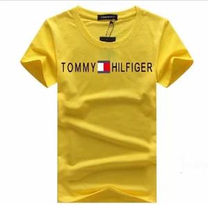 Hommes T-shirts 2019 printemps été nouvelle marque Designers imprimés manches courtes Mode Hauts yeux Vêtements décontractés en plein air 9 Couleurs TK3