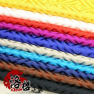 Китайский стиль Hanfu Cheongsam костюм Hanfu Woven Дамасской Brocade Fabric Great Wall Antique