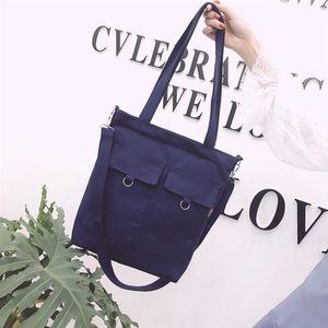 Korean Alltag Einfach Literary Tasche 2020 New Ins College Style Fashion Tasche Große Kapazität Studenten Umhängetasche
