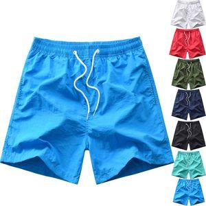 GEJAIN Summer Men's Casual Shorts Hawaiian Vacation Beach Shorts Plus Size Multicolor Quick Dry Surfing swimshorts men