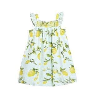 Burst Girl Dress 2020 New Children's Sling Skirt Summer Princess Dress Fashion Lovely Fruit