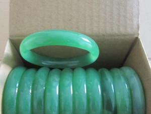 Sertifika ile Toptan-Sıcak Satış A sınıfı Saf Doğal Jade Bileklik Bileklik Jade Bilezik