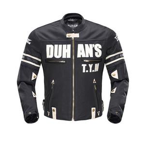 DUHAN Motosiklet Erkekler Ceket Yaz Giyilebilir Motokros Zırh Off-Road Yarışları Giyim Spor Ceket Koruyucu Muhafızları Binme Jersey
