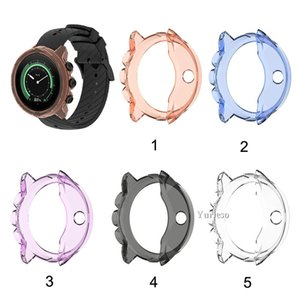 Clear TPU Frame Protector Watch Case Cover Shell for Suunto9 Baro, Spartan Sport Wrist Hr-Baro Wholesale