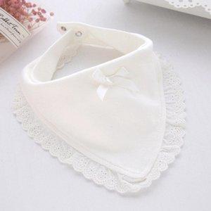 Baby Bibs Burp Bibs & Burp Cloths Cotton Lace Bow Baby Girls Lovely Cute Infant Saliva Towels Kids Feeding Saliva Towel Babetes