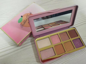 Free shipping Cosmetics Sugar Cookie Tickled Peach Mini Eyeshadow Palette Makeup 8 colors eye shadow choose your color