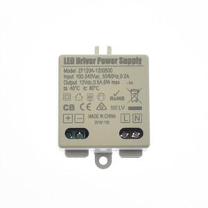 LED Modül ve Şerit Işıklar için 12V DC Trafo için 6W 12W 18W 24W 30W Kapalı LED Güç Adaptörleri Kaynağı Sürücü 100-240V AC