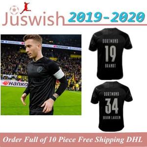 Top Thai 19 20 Borussia Dortmund 110 años de fútbol Jersey 2019 2020 camiseta de fútbol SANCHO REUS Hummels BRANDT PACO DELANEY Maillot