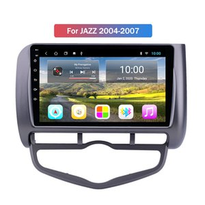 2G RAM 9 Inch Android 10 Car DVD Player for Honda JAZZ 2004-2007 Audio Multimedia Gps Navigation System