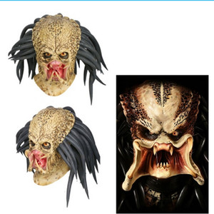 Predator Cosplay Masque Costume Casque Props antenne Halloween Party Horreur T200703