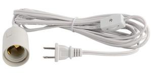 IQ cables de la lámpara araña alambre pantalla pantalla cable cable de alimentación cable cable de alimentación 110 V europeo y estadounidense UL cable de alimentación de 12 pies LLFA