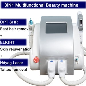 2019 Le récent Nd Yag Laser Machine détatouage laser ipl SHR 2500w Q Switched Wavelength 1064nm 532nm 1320 nm