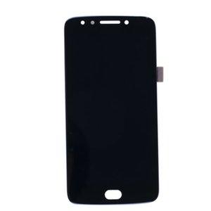 5.0 polegadas Montagem de exibição LCD para Motorola Moto E4 XT1767 Versão dos EUA com Fingerprint Sensor Peças de substituição Preto