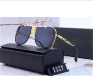 Designer Polarizerd occhiali da sole per la Mens dello specchio di vetro Gril Lense Vintage Occhiali da sole Eyewear Accessori da donna