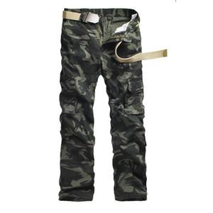 Hommes Pantalons Pantalons de camouflage Cargo mens poches Casual pantalons hommes Outwear Armée Baggy Joger Travailleur Homme Camo