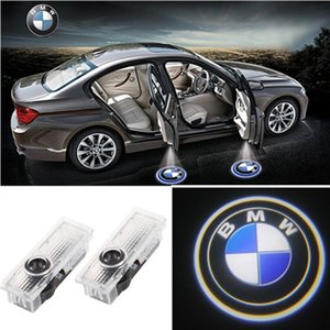 2x Puerta del coche LED Logo Light Proyector láser Luces Ghost Shadow Lámpara de bienvenida Fácil instalación para BMW M E60 M5 E90 F10 X5 X3 X6 X1 GT E85 M3