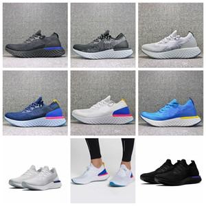Fly Epic İyi S0UTH Erkek Koleji Donanma Üçlü Siyah Koyu Gri Örme Tasarımcı Spor Sneakers Eğitmenler Koşu Ayakkabıları Tepki