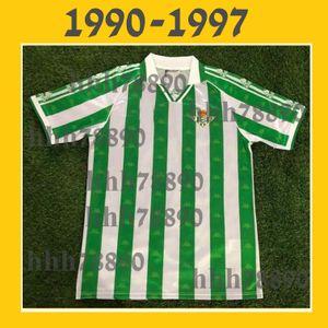 Thai Quality 90 97 Royal Betis Soccer Jerseys JUANMI JOAQUIN CANALE C. TELLO CANALES A. BARRAGAN FEKIR football shirt