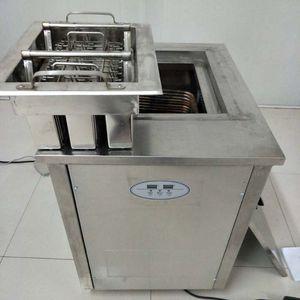 Новая из нержавеющей стали 1 формованная машина Popsicle Machine Machine с 1 пресс-форм и хладагентом
