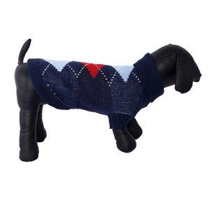 Pet Dog Classics Casual Dot Sweater Puppy Turtleneck Cloth for Winter Autumn Pet Hoodies High Collar Costume Pet Sweater Supply