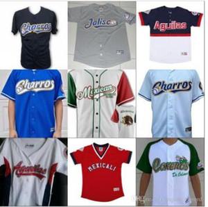 Mexicali Charros de Jalisco Quakes Jerseys Aguacateros de Michoacan Tomateros de Culiacan Jersey 100% Stitched Custom Baseball Jerseys