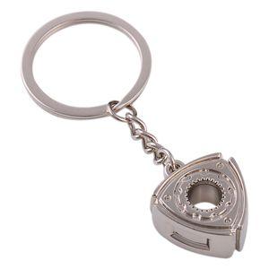 Gift Automobile Refitting Rotor Engine Keychain Key Ring Pendant Waist Hanging Advertising