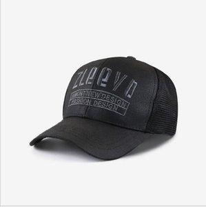 New best selling American baseball cap cross border letter embroidery summer sun visor men's Retro cap mesh ventilation
