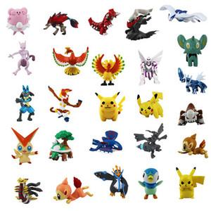 144 Kinds of Pet Elf Pocket Monster Plastic Doll Cartoon