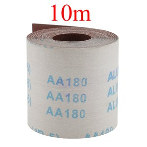 10m x 100mm 600 Grit Water Proof Emery Cloth Sanding Paper for Metalworking