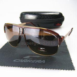 C11-05 высокого качества Brand Cолнцезащитные очки Мода Мужские очки Ретро Женщины солнцезащитные очки UV400 объектива Unisex с корпусами и коробками