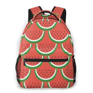 OLN Women Backpack Kids School Bag for Teenage Girls Cute Watermelon Female Laptop Notebook Bagpack Travel Back Pack 2020