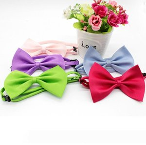 A Dog Tie 2017 Adjustable Pet Grooming Accessories Rabbit Cat Dog Bow Tie Solid Bowtie Pet Dog Puppy Lovely Decoration Pet Product
