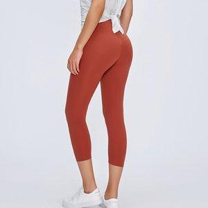 Klasik 10 Renkler 2.0 sürümleri Yumuşak Çıplak Feel Atletik Spor Tozluklar Kadınlar Sıkı Yüksek Bel Gym Spor Tayt Yoga Pantolon