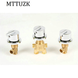 оптовый горячий и холодная вода латунного переключатель клапан для ванной крана смесителя для душа, ванны установить смеситель, смеситель для ванны управления клапаном