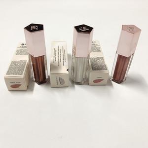 batom 3 cores leite brilhante cereja vitamina Plumping Limpar Diamante Lip Glaze líquido lip gloss bomba brilho exigente 9ml