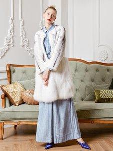 Arlene sain 2020 Silver Cross Silver Cross Mink mid-length fur coat
