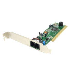 PCI Modem 56K بيانات داخلية / فاكس مودم صوتي Windows XP Vista Win7 / 8 32/64 bit V.92 V.90 Dial Up Fax