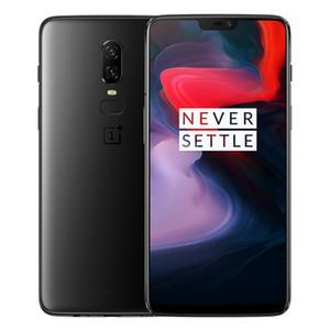 "8GB 256 GB OnePlus 6 6.28 ""AMOLED Pantalla completa Octa Core Snapdragon 845 Huella digital Cara ID NFC GPS 5G WiFi 20MP Cámara Carga rápida Teléfono inteligente"