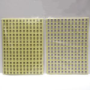 2880PCS / lot 10mm CE Adhesive Aufkleber Etiketten 15 Blatt Printed Electronics CE-Paket Klebe-Etiketten-Aufkleber