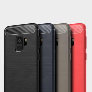 Motomo Матовый Вертикальная мягкая TPU чехол для Iphone 11 Pro XR XS MAX X 8 7 6 Galaxy Note 10 9 S10 углеродного волокна Ультра тонкий гибкий Тонкий чехол