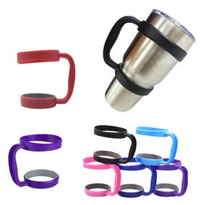 30oz 20oz Cups alças portátil Mão Holder Plastic Vacuum Mugs Coffee Cup Handle copos de aço inoxidável Tumbler Copos Handle GGA3104-3