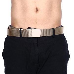 115cm Length Outdoor Sports Tactical Belt Plastic Buckle Nylon Waist Belts Multicam Molle Automatic Buckle Army Belts