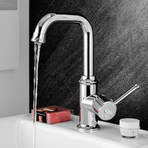 Modern rotating one-handle kitchen sink faucet hot and cold mixed ceramic bathroom faucet